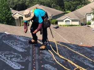 Our roofers can repair small leaks or big problems